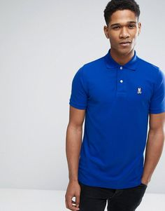 Psycho Bunny Polo Shirt In Blue - Blue