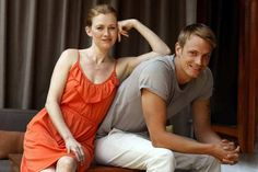 'The Killing's' Mireille Enos and Joel Kinnaman http://goo.gl/3bswI