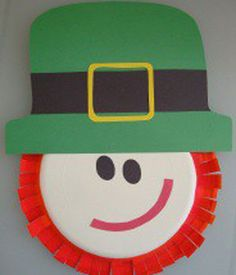 A Fun St. Patrick's Day Craft Idea: Paper Plate Leprechauns