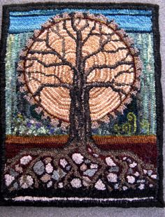 LAYERS for the secret forest challenge by Sharon Johnston