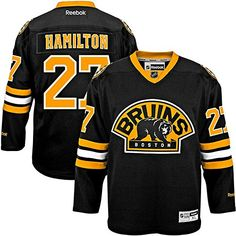 NHL Boston Bruins 27 Dougie Hamilton Mens Premier Jersey Black2 color Size S -- Check this awesome product by going to the link at the image.