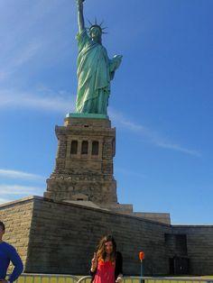 Liberty Island nel New York, NY