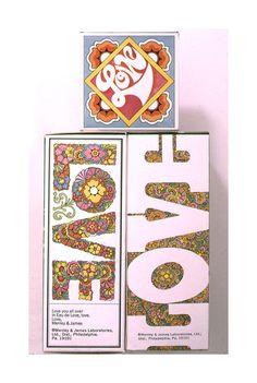 1969. John Alcorn. Perfume.