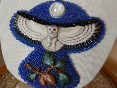 Bead Embroidery  Bead Crocheted Laura Mears by TatasBeadCreations