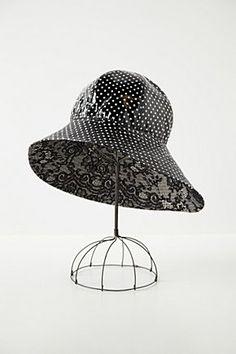 Dot-Drizzled Rain Hat | Anthropologie.eu