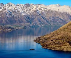 hidden island on and from above - Queenstown New Zealand, Lake Wakatipu, Island, Mountains, Nature, Travel, Instagram, Naturaleza, Viajes