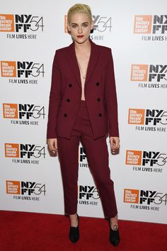 1. Her trouser suit obsession