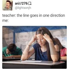 "I was in French class today the the teacher was showing an example of someone's work from a couple years ago and she said ""oh look, this person has one direction on theirs-"" but before she could finish I slammed my hand down on the desk and yelled ""YEAH."" I'm fun."