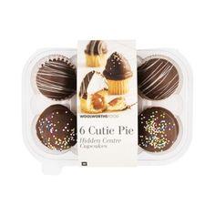 Cutie Pie Hidden Centre Cupcakes 6Pk Buy Cake, Cupcakes, Pastry Cake, Doughnut, Tea Time, Centre, Muffins, Sweet Treats, Bakery