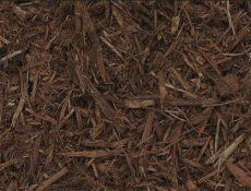 source one brown colored enhanced mulch