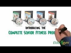 Arm Stretches for Seniors and the Elderly; Overhead Reach - Eldergym® Senior Fitness