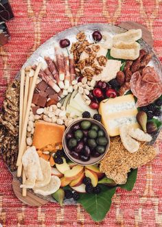 Summer Cheese Board from www.whatsgabycooking.com (@whatsgabycookin)