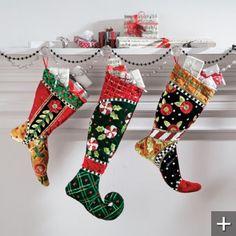 Mary Engelbreit Jester Stockings