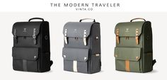 VINTA Camera Bag | Authentic travel gear and camera bags made for the modern traveler.