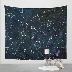 Buy Look to the Stars Wall Tapestry by Samantha Crepeau. Worldwide shipping available at Society6.com. Just one of millions of high quality products available.