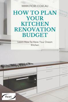 Modern Outdoor Kitchen, Modern Kitchen Design, Kitchen Layout, New Kitchen, Latest Kitchen Designs, Renovation Budget, Kitchen Cabinets, Kitchen Appliances, Sydney