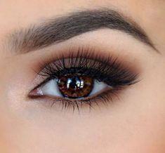 35 Cute Eye Makeup Ideas for Brown Eyes -. - - 35 Cute Eye Makeup Ideas for Brown Eyes - Makeup Summer Wedding Makeup, Wedding Makeup For Brunettes, Makeup For Blondes, Natural Wedding Makeup, Summer Makeup, Bridal Makeup, Natural Makeup, Wedding Beach, Girls Makeup