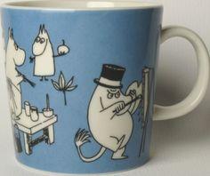 Moomin Mugs, Tove Jansson, Marimekko, Finland, Ceramics, Tableware, Creative, Kitchen Ideas, Historia