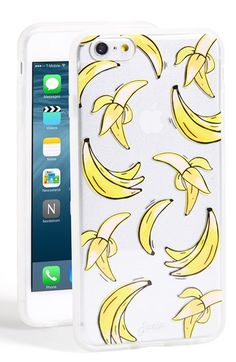 Sonix 'Clear That's Bananas' iPhone 6 Plus Case available at #Nordstrom