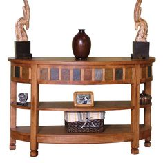 Sedona Curved Entry/TV Console by Sunny Designs