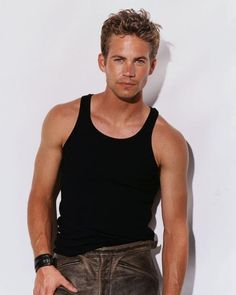 Young Paul Walker in Black Wif... is listed (or ranked) 8 on the list 27 Pictures of Young Paul Walker
