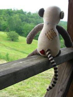 The Sock Monkey Chronicles-- I LOVE all her monkeys SOOO much!!!!