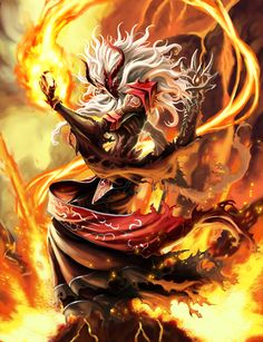 Tutthoyee-The Flame Shooter Demon Hero of Lava Devacurse Trading Card Game Gandharvas Studio Co., Ltd, Bangkok, Thailand =======Land of Digital Art=====. Tutthoyee-The Flame Shooter Dark Fantasy Art, Fantasy Kunst, Fantasy Artwork, Fantasy Character Design, Character Concept, Character Art, Concept Art, Fantasy Wizard, Fantasy Warrior