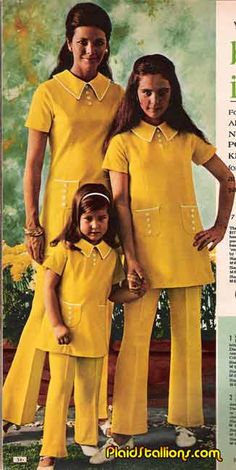 70s Family Pants suits