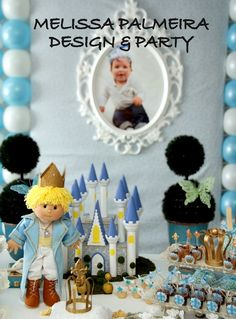 """Prince / Birthday """"Little Prince """"   Catch My Party"""