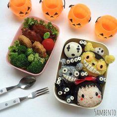 Ghibli collection! -- #ghibli #foodart #bentoart #kyaraben #charaben #kawaii #cute #anime #manga #otaku Posted with permission from @5ambento