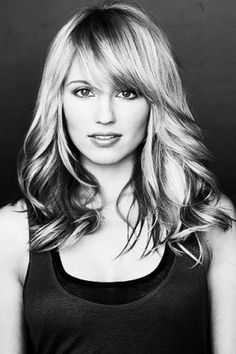 Diana Agron. Love her bangs!