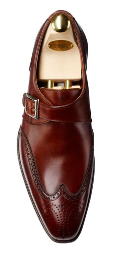 Aren't these Chesnut single monk-strap loafers designed by Crockett & Jones just amazing? We offer similar designs crafted from the finest #calf #leather.