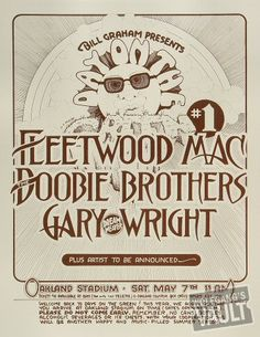 "can i say i was here?  omgosh, so many memories living in the bay area in the 70's esp the music.  every ""day on the green"" concert in Oakland.......with the lineup reading like this . . . . spending the night to get a good seat............incredible, lots of memories"