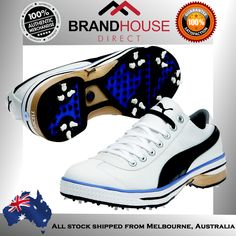 000a5f5b81c17f PUMA MENS GOLF SHOES WATER RESISTANT SECURE FIT COMFORTABLE ON EBAY  AUSTRALIA!