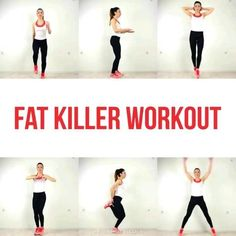 6 exercise to burn body fat within a month! 6 exercise to burn body fat within a month!,Workout Lose body fat within a month without gym by doing these set of exercise at home. Fitness Workouts, Gym Workout Videos, Gym Workout For Beginners, Fitness Workout For Women, Sport Fitness, Yoga Fitness, Fitness Motivation, Fitness Goals, Yoga Workouts