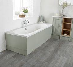 Roper Rhodes Burford Pebble Grey Bath Panel Grey Flooring, Floors, Roper Rhodes, Grey Baths, Timeless Bathroom, Bath Panel, Pebble Grey, Frameless Shower, Bath Light