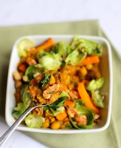 Butternut Squash and White Bean Stew Vegetarian