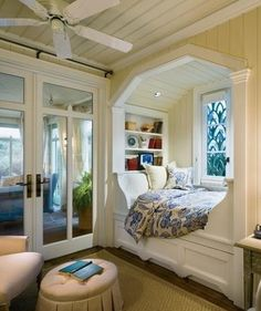 Bed near window.My dream...