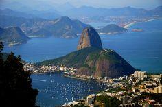 World's Most Stunning Bays - Guanabara Bay - Brasil