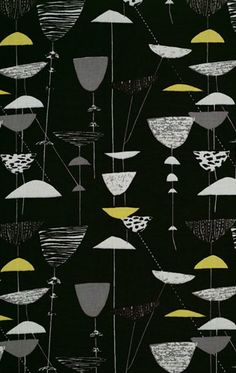 Pattern design by Lucienne Day (1917-2010), 1951, Calyx.