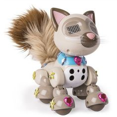 Zoomer Meowzies Sparkles is the Meowzy who comes with exclusive stickers.