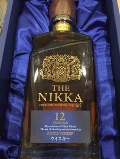 The Nikka 12 year old Cigars And Whiskey, Whiskey Bottle, Nikka Whisky, Blended Whisky, Japanese Whisky, 12 Year Old, Scotch, Bourbon, Wines