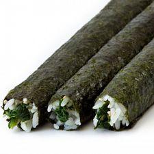 veggie roll in seaweed