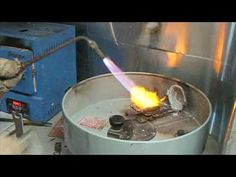 Lost Wax Jewelry Casting Process Celtic Jewelry Walker Metalsmiths - YouTube