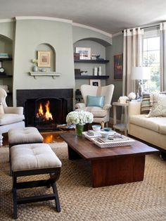 Living Room Arranging Tips