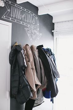 Karson Butler Events DC Design Studio-Chalkboard Wall-Inspired By This Chalk Wall, Chalk Board, Chalkboard Paint, Chalkboard Ideas, Inspiration Wall, Mudroom, Open House, Event Design, Sweet Home