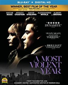 A Most Violent Year (2014)   A thriller set in New York City during the winter of 1981, statistically one of the most violent years in the city's history, and centered on a the lives of an immigrant and his family trying...  Starring: Jessica Chastain, Oscar Isaac, David Oyelowo, Albert Brooks, Alessandro Nivola, Elyes Gabel  Director: J.C. Chandor