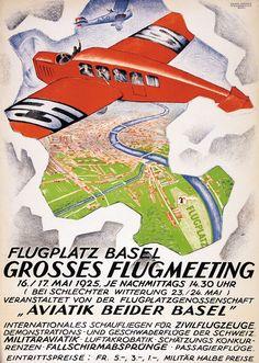Mangold Burkhard - Flugmeeting Basel