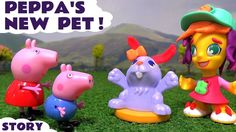 Peppa Pig Play Doh Town Pet Store toy story at Muddy Puddles Toys Playgr...