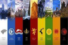Custom Game of Thrones Wall Poster Sticker  #gameofthrones #gameofthronesfamily http://worldofgofthrones.com/product/custom-game-of-thrones-wall-poster-sticker-50x76cm/